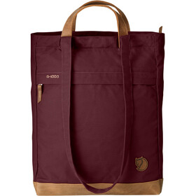 Fjällräven No. 2 Tote Bag, dark garnet